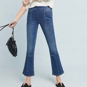 Anthropologie Pilcro Utility Crop Bootcut Jeans
